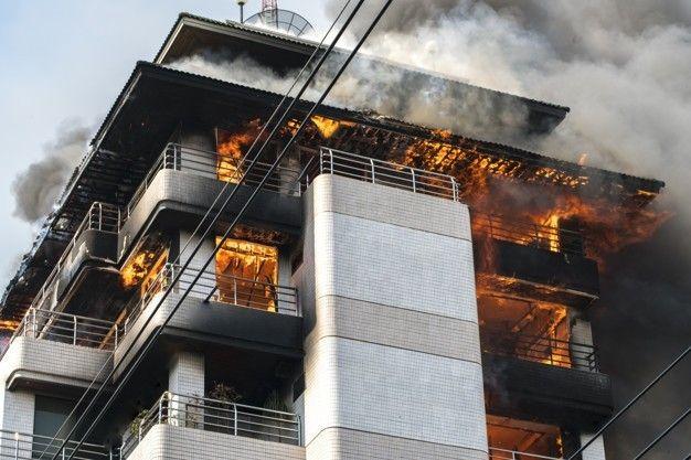 incendio edificio