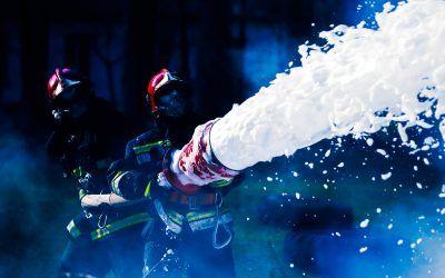 ¿Qué es la extinción de incendios con espuma?